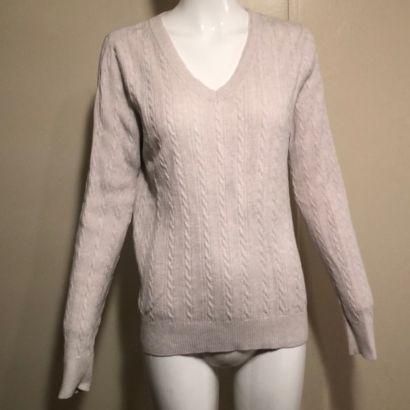 Sonoma Life&Style Cable Knit Top